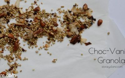 Healthy granola home made muesli gluten free for breakfast