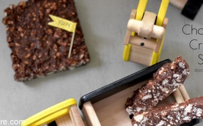 recipe for chocolate slice for kids lunchboxes