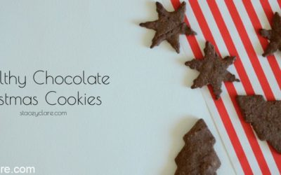 Quick chocolate shortbread recipe for christmas cookies