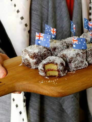 kid friendly lamington recipe