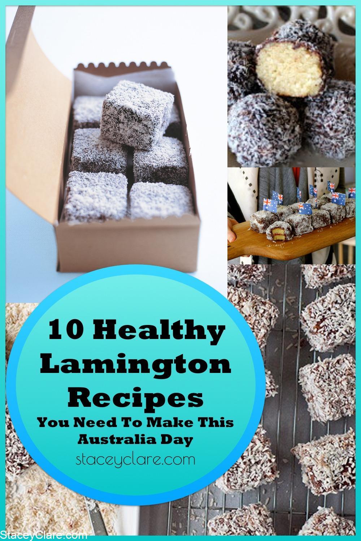Pinterest healthy baking recipes for lamingtons